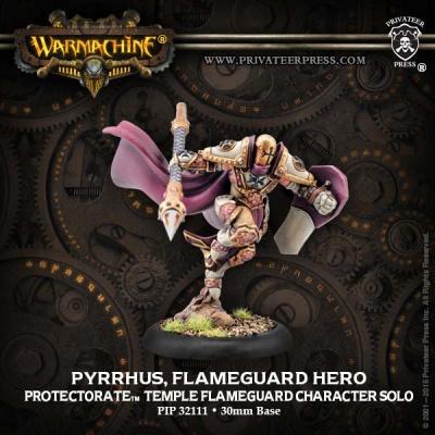 Protectorate Solo Pyrrhus, Flameguard Hero