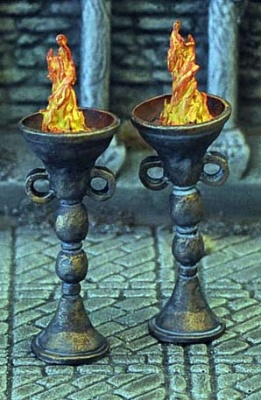 Set of 2 Braziers
