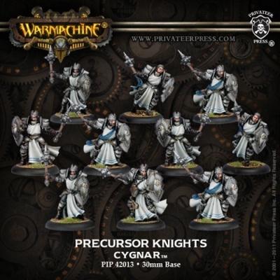 Cygnar Allies Precursor Knights Unit Box (10)