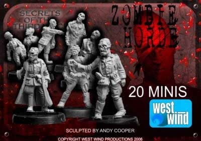 German Zombie Horde (20 figs)