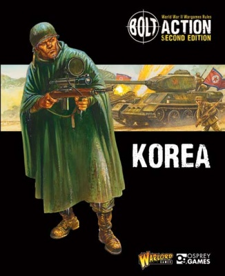 Bolt Action: Korea supplement + gratis Frozen Chosin mini