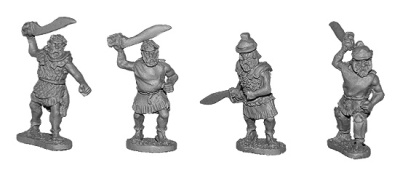 Maccabean Jewish Swordsmen (8 of 4 designs)
