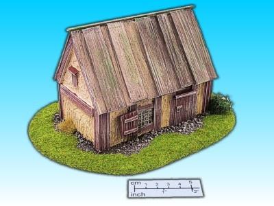 Geländestück altes Haus