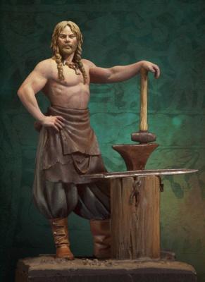 Norse Blacksmith 750 A.D.