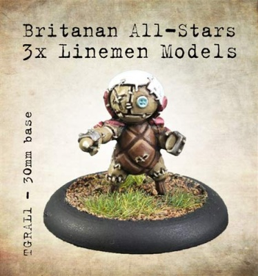 Britanan All-Stars Linemen (3)