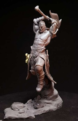 Solrak The Savage 'Barbarian Fury'