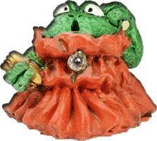 Frosch Magierin