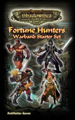 ShadowSea Fortune Hunters Warband Starter Set