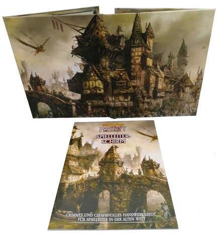 Warhammer Fantasy-Rollenspiel Spielleiter-Schirm