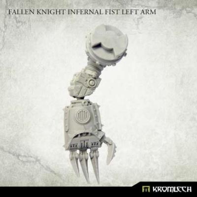 Fallen Knight Infernal Fist Left Arm