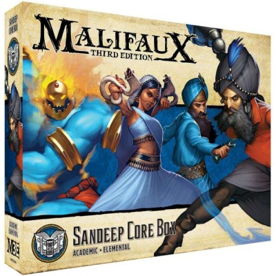 Malifaux (M3E): Sandeep Core Box