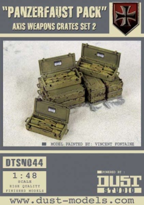 """Panzerfaust Pack"" Axis Weapon Crates Set 2"