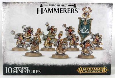 Dispossessed Hammerers/ Longbeards (MO)