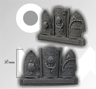 Big Templar Shields