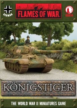 Tank Aces - Königstiger  (with both turrets)