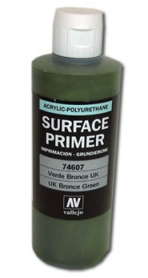 Vallejo Primer UK Bronze Green (Polyurethane) (200ml)