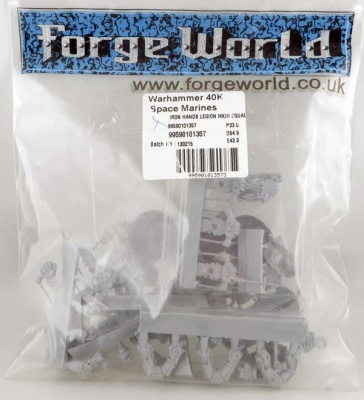 FORGEWORLD: Iron Hands MKIII Squad (5)