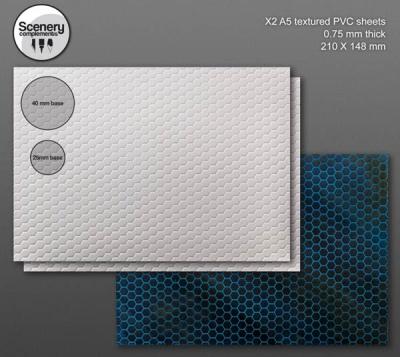 Textured Sheet: Hexagonal Tiling (2)