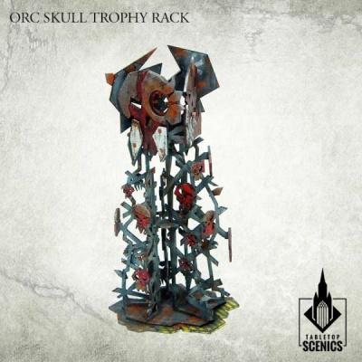 Orc Skull Trophy Rack