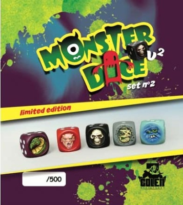 Monster Dice (painted, lim) Set 2