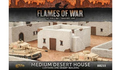 Medium Desert House