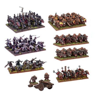 Kings of War Two Player Battle Set (DEUTSCH)
