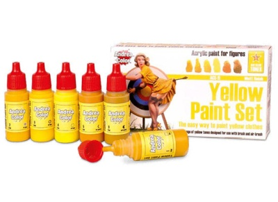 Yellow Paint Set