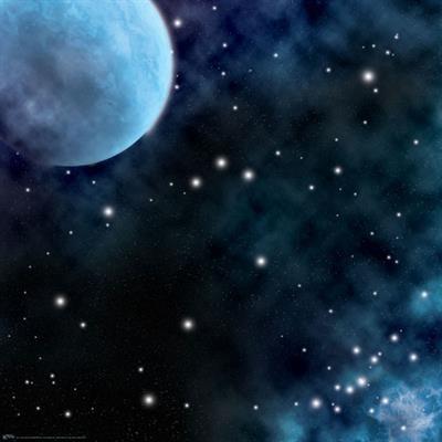 "Frozen Planet Space Game Mat ""36x36"""