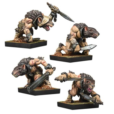 Abyssal Dwarf Ratkin Slaves Reinforcement