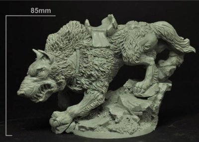 28mm Celtic Giant Wolf