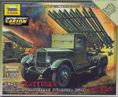 1:100 Wargame AddOn: BM-13 Katyusha