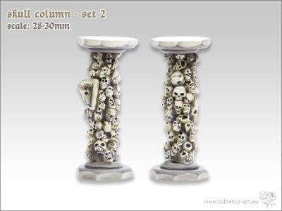 Totenschädel Säulen #2 (2)