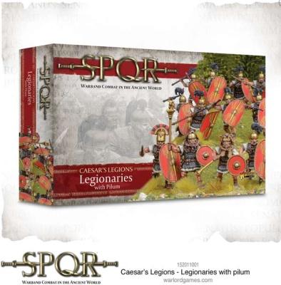SPQR: Caesar's Legions - Legionaries with pilum (12)