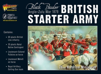 Anglo-Zulu War British Starter Army