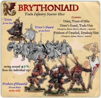 Brythoniaid Teulu Infantry Starter Host