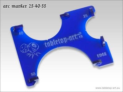 Arc-Marker 25-40-55 - Blau