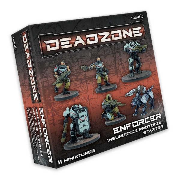 Deadzone Enforcer Insurgence Protocol Starter