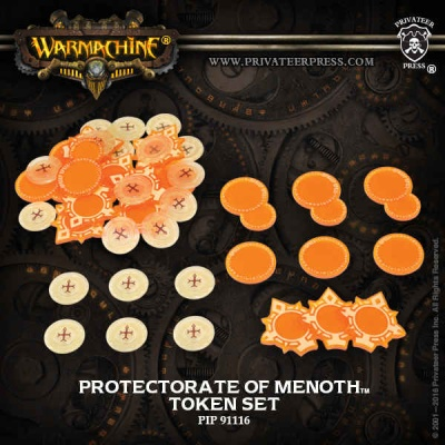 WARMACHINE Prot of Menoth Faction Tokens 2016