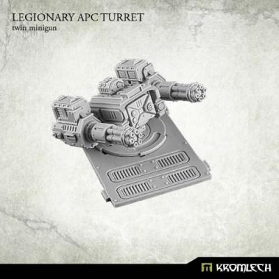 Legionary APC turret: Twin Minigun