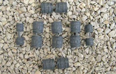 Plastic Barrels (5+5)