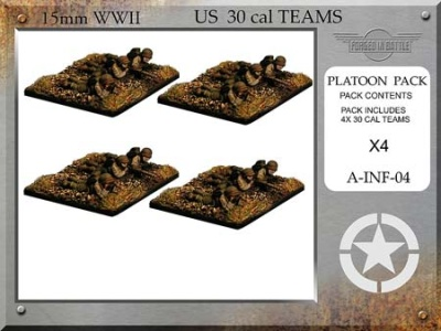 US 30 Cal HMG Teams
