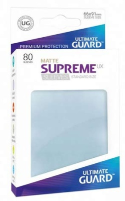 Supreme UX Sleeves Standard Matte - Clear (80)