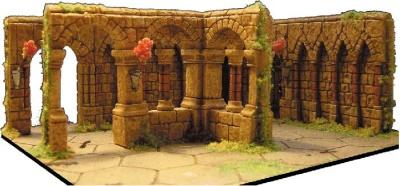 Kloster (3 Mauern)