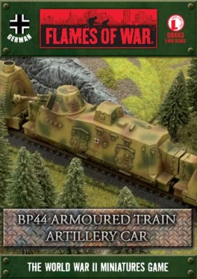BP44 Armoured Train Artillery Car