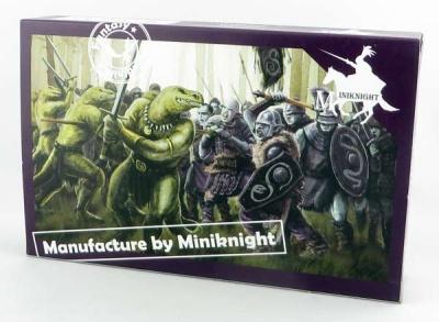 Caesar Miniatures: Lizardmen Warriors (1/72)