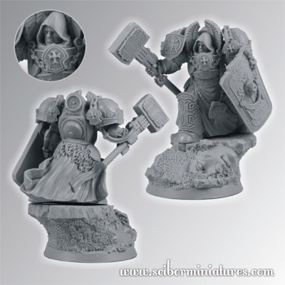 28mm Templar SF Knight #6 (1)