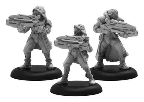Vassal Witch Hunters - Warcaster Aeternus Continuum Squad