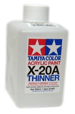 Tamiya X-20A THINNER (250ml)