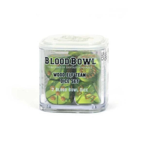 Blood Bowl: Wood Elf-Team Würfelset