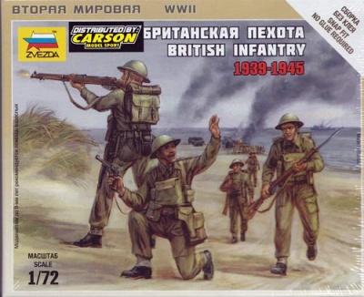 1:72 British Infantry (5)